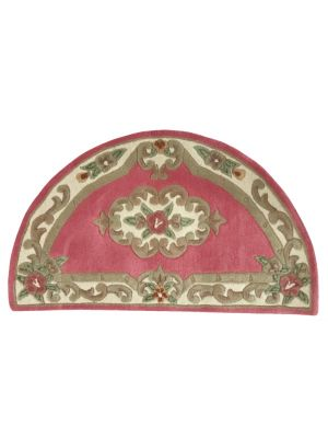 Half Moon Wool Rug - Avalon - Pink - 67x127