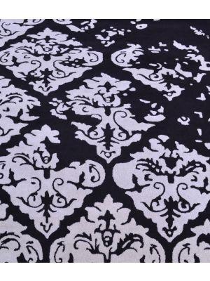 Designer Erased Rug - 1068 - Black/Silver - 160x230