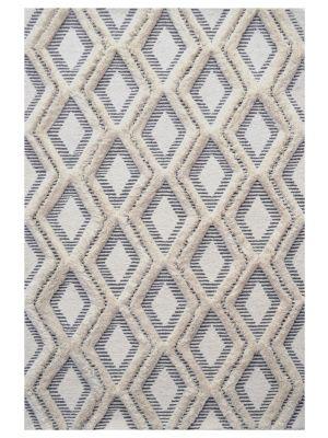Alaska Fine Quality Handmade Wool Rug - 6208 - Natural/Ivory - 80x150cm