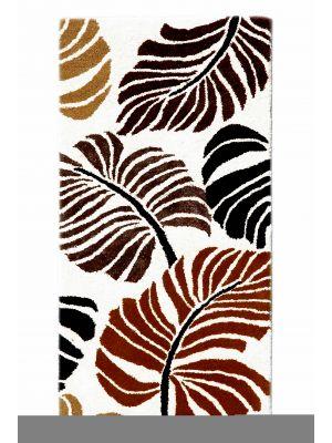 Handmade Botanical Wool Rug - 5059 - Ivory - 60x120