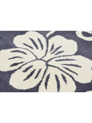 Designer Handmade Round Wool Rug - 5066 - Grey - 150x150