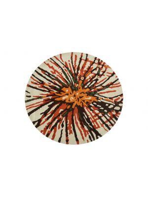 Designer Handmade Round Wool Rug - 5067 - Multi - 150x150