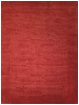Contemporary Handmade Wool Rug - Elantra 1041 - Red - 160x230cm