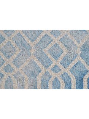 Handmade Modern Wool Rug - Maryland 1170 - Aqua - 60x120cm