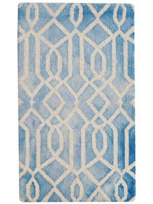 Handmade Modern Wool Rug - Maryland 1170 - Aqua - 60x90cm