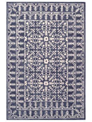 Mosaic Handmade Wool Rug - 6212 - Charcoal - 190x280cm