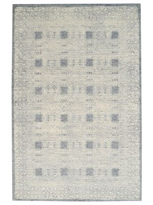 Designer Handmade Wool Rug - Newcastle 6200 - Grey - 160x230