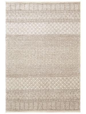Designer Handmade Wool Rug - Newcastle 6203 - Natural - 190x280cm