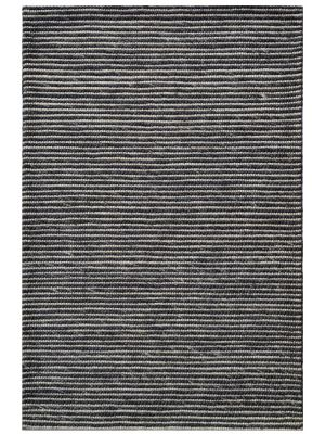 Designer Handwoven Beads Wool Rug - 6218 - Charcoal - 160x230cm