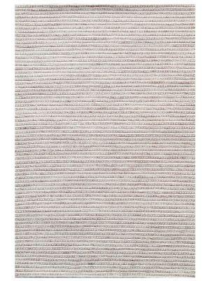 Designer Handwoven Beads Wool Rug - 6218 - Sand - 110x160cm