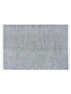 Handwoven Reversible Wool Rug - Boondi - Black/White - 170x240
