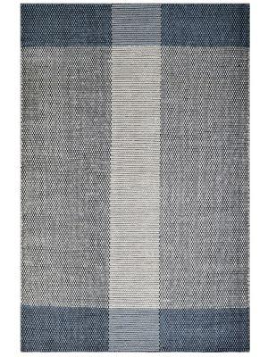 Modern Handwoven Wool Rug - Dotts - Ivory/Grey - 190x280cm