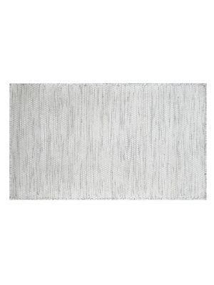 Handwoven Reversible Wool Rug - Boondi - Natural - 80x150