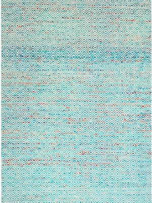 Tribal Mira Handwoven Rug - 1089 - Blue - 110X160