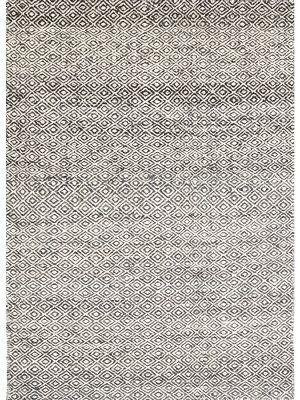 Tribal Mira Handwoven Rug - 1089 - Ash Grey - 110X160