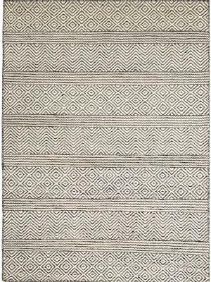 Tribal Mira Handwoven Rug - 1099 - White-Black - 80x300