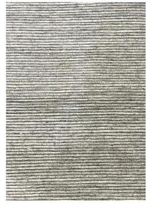 Fine Handwoven Wool Rug - Ridges - Sand - 190x280
