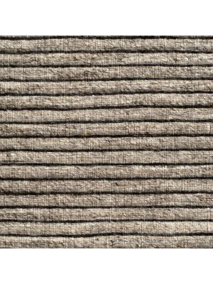Fine Handwoven Wool Rug - Ridges - Sand - 110x160