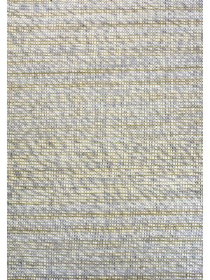 Sua - Flatwoven Modern Wool Rug - 506 - Silver/Gold - 160x230