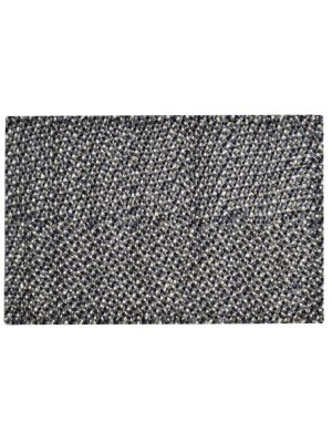 Handwoven Felted Wool Rug - Jelly Bean - Grey - 80x150