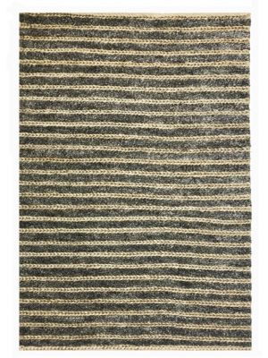 Handmade Wool & Jute Rug - 1430 - Cream/Natural - 110x160