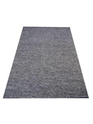 Braided Wool Rug - Link 1003 - Ash Grey - 160x230