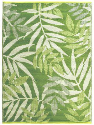 Reversible Indoor/Outdoor Mats - Chatai-2645-Olive Green-120x170
