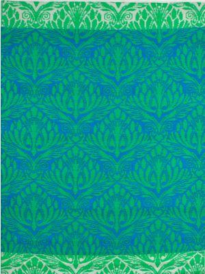 Reversible Indoor/Outdoor Mats - Chatai Peacock - Ocean Green-120x170