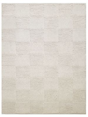 Braided Wool Rug - Ottawa1014 - White - 160x230
